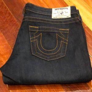 🌸 True Religion Straight Jeans Sz 31